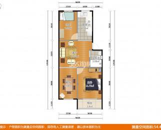 海福巷3号2室2厅1卫72.6平米精装产权房1998年建