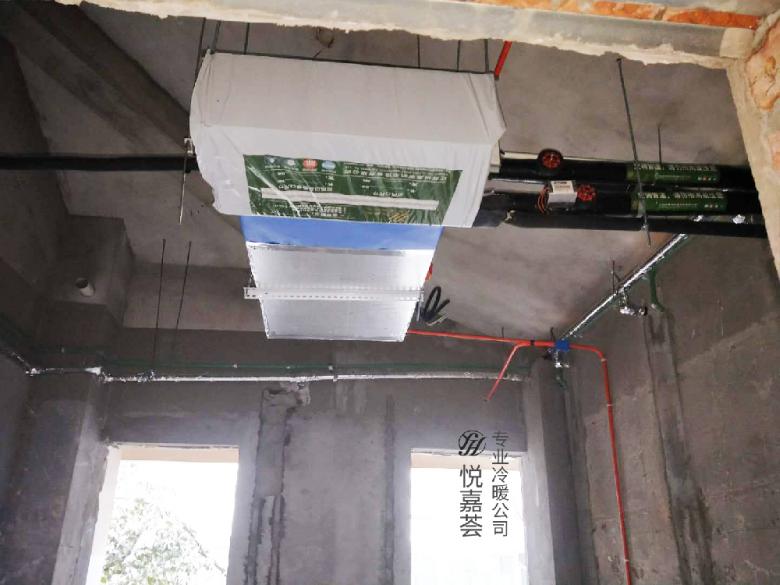 【悦嘉荟冷暖】金陵家天下――约克水系统空调+地暖二联供施工日志: