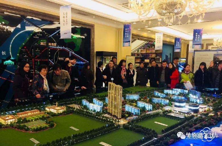 48小时1000组客户,鼓楼滨江大盘公开江景样板间,传奇再续!