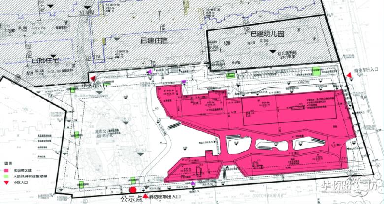 【规划设计方案出炉】复地御钟山花园居住社区地块设计方案批前公示,城东人民又添商业利好!
