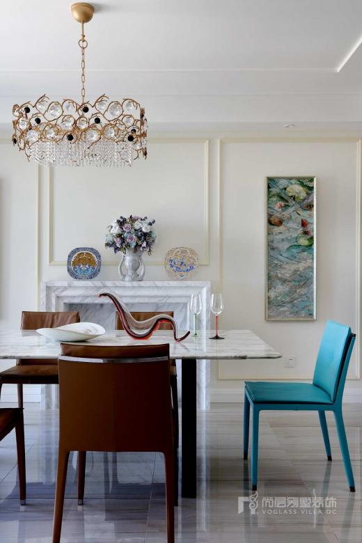 南京尚层装饰|别墅装修案例-现代基调下的高雅轻奢