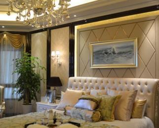 河西万达 乐基金鹰旁 开发商式豪装 华润悦府 财富的象征 拎包住