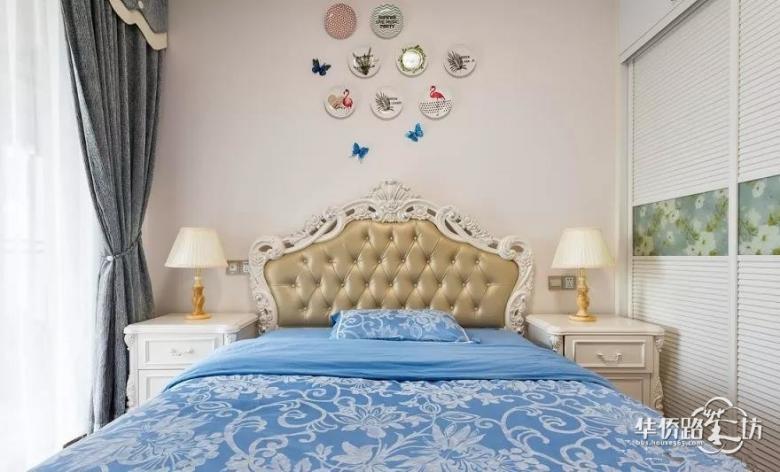 145�O美式风格装修,卧室的设计太好看了!