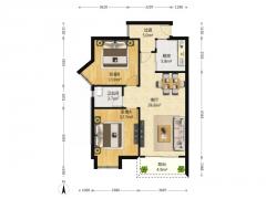 百家湖商圈国际公寓 三期满二 稀缺好户型 随时看房