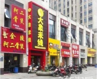 急租地铁口 河西万达广场门面 8米门头 适合各种业态